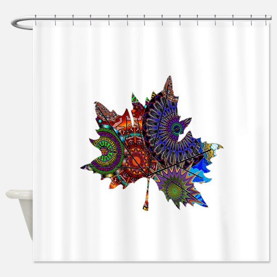 REVEALING THE PATH Shower Curtain