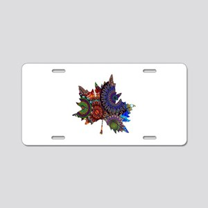 REVEALING THE PATH Aluminum License Plate