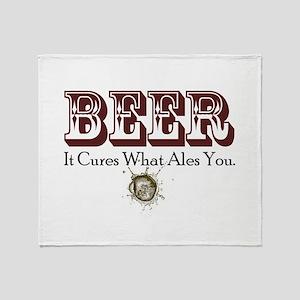 BeerCure Throw Blanket