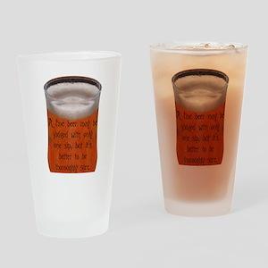 CzechProverb Drinking Glass