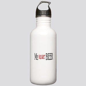 MeHeartBeerCP Stainless Water Bottle 1.0L