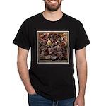 Autumn Leaves Black T-Shirt