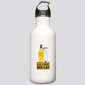 EmergencyBreakGlass Stainless Water Bottle 1.0
