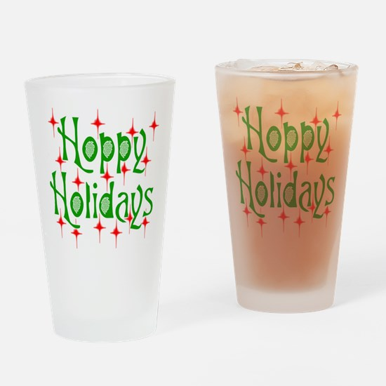 HoppyHolidays.png Drinking Glass