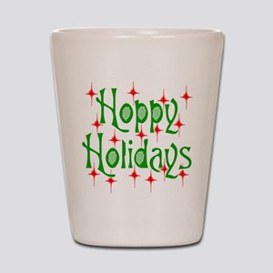 HoppyHolidays Shot Glass