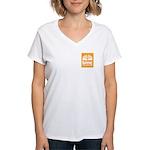 BINC Women's V-Neck T-Shirt