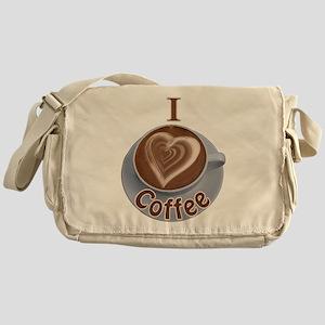 ILoveCoffeeCup Messenger Bag