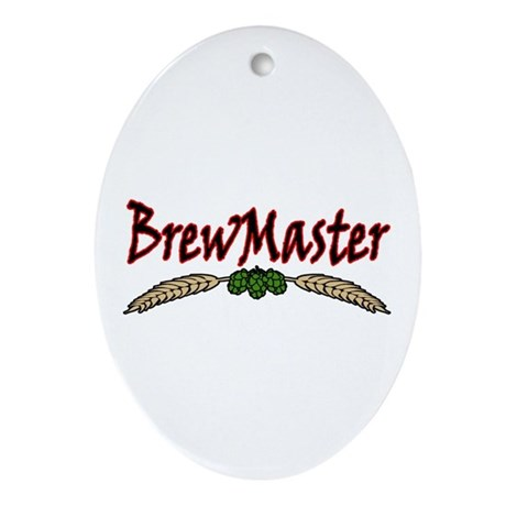 BrewMaster2 Ornament (Oval)