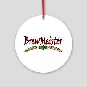 BrewMeister Ornament (Round)