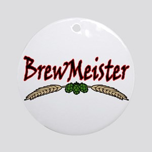 BrewMeister.png Ornament (Round)
