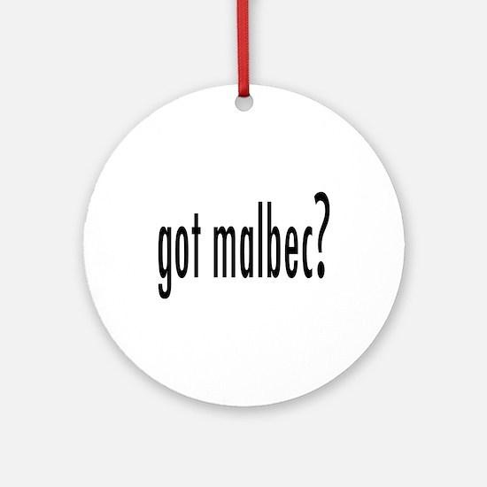 got malbec.png Ornament (Round)