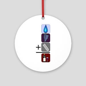WineFormula Ornament (Round)