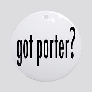 GotPorter.png Ornament (Round)