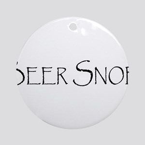BeerSnobCP Ornament (Round)
