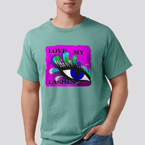 Love my lashes in color Mens Comfort Colors Shirt
