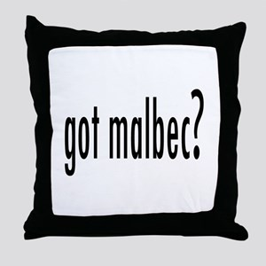 got malbec Throw Pillow