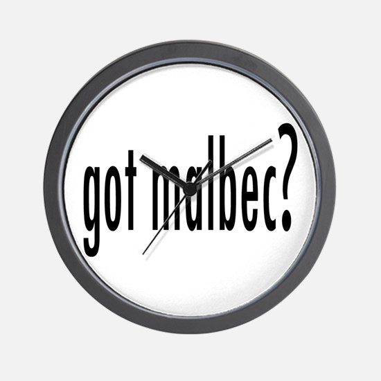 got malbec.png Wall Clock