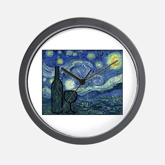 WineyNight.png Wall Clock