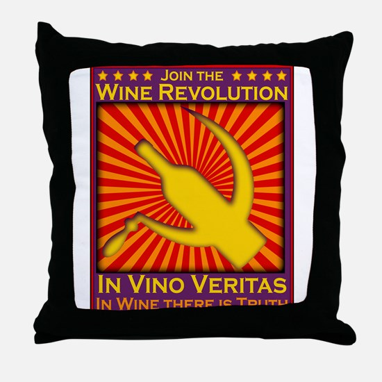 Unique Veritas Throw Pillow