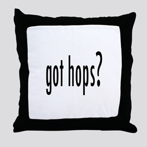 GotHops Throw Pillow