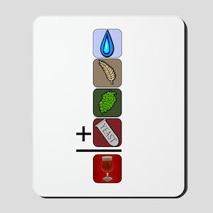 BeerFormulaBlack Mousepad