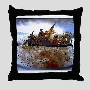 CrossingTheAle-ware Throw Pillow