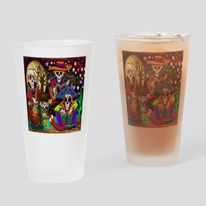 Day of the Dead Music Drinking Glass