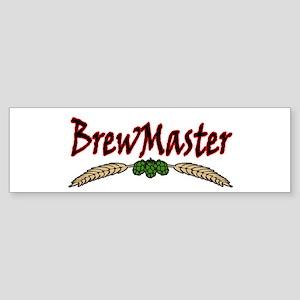 BrewMaster2 Sticker (Bumper)