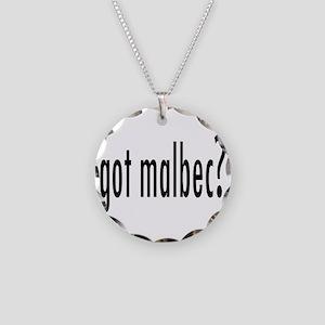 got malbec Necklace Circle Charm