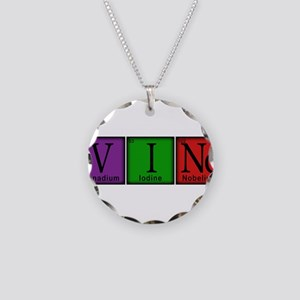 Periodic-Beer Necklace Circle Charm