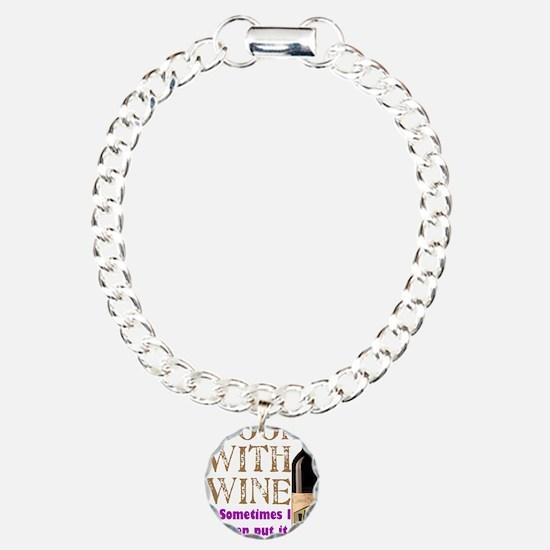 ICookWithWine.PNG Bracelet