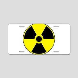 RadiationPlain Aluminum License Plate
