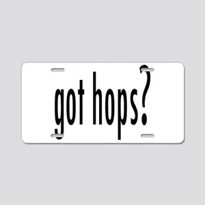 GotHops Aluminum License Plate