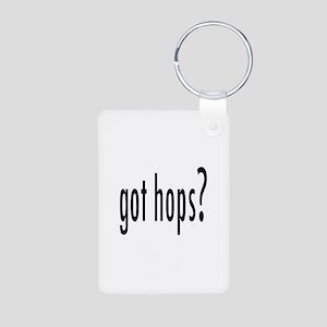 GotHops Aluminum Photo Keychain