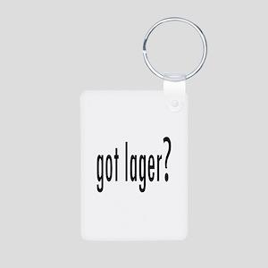 GotLager Aluminum Photo Keychain