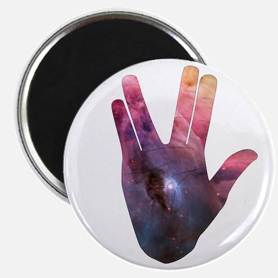 Vulcan Salute Beyond the Stars Magnets