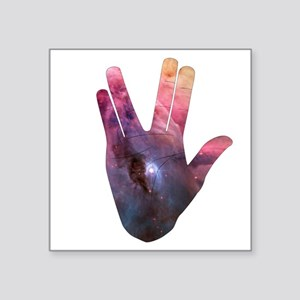 Vulcan Salute Beyond the Stars Sticker
