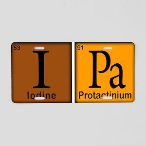 Periodic-Beer Aluminum License Plate