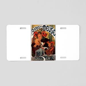 BieresDeLaMeuse Aluminum License Plate