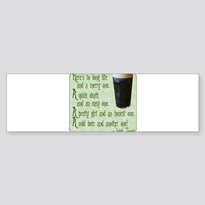 IrishToast Sticker (Bumper)