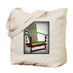 beach chair Tote Bag