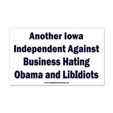 Iowa Independent Wall Decal