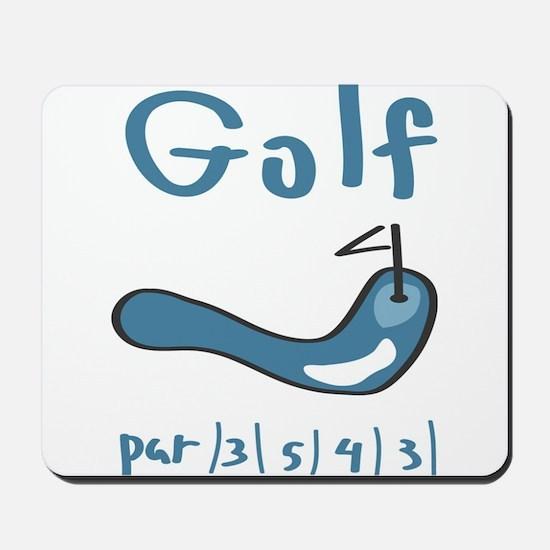 Golf1 Mousepad