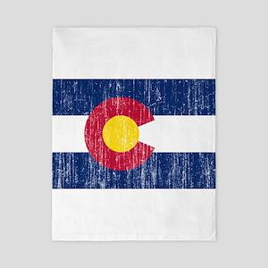Colorado Flag Twin Duvet