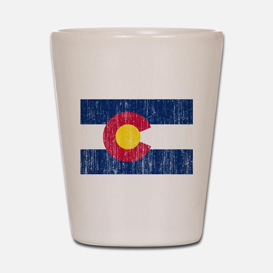 Colorado Flag Shot Glass