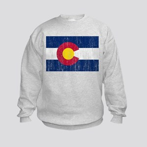 Colorado Flag Kids Sweatshirt