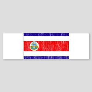 Costa Rica Flag Sticker (Bumper)