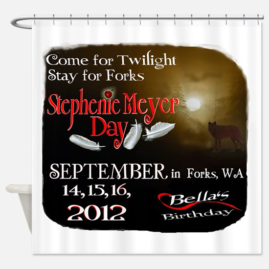 Official Forks, WA 2012 Stephenie Meyer Day graphi