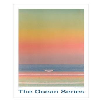 Ocean Spectrum 20 x 16 inch POSTER