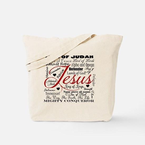 The Name of Jesus Tote Bag